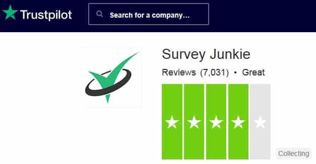 surveyjunkie trustpilot