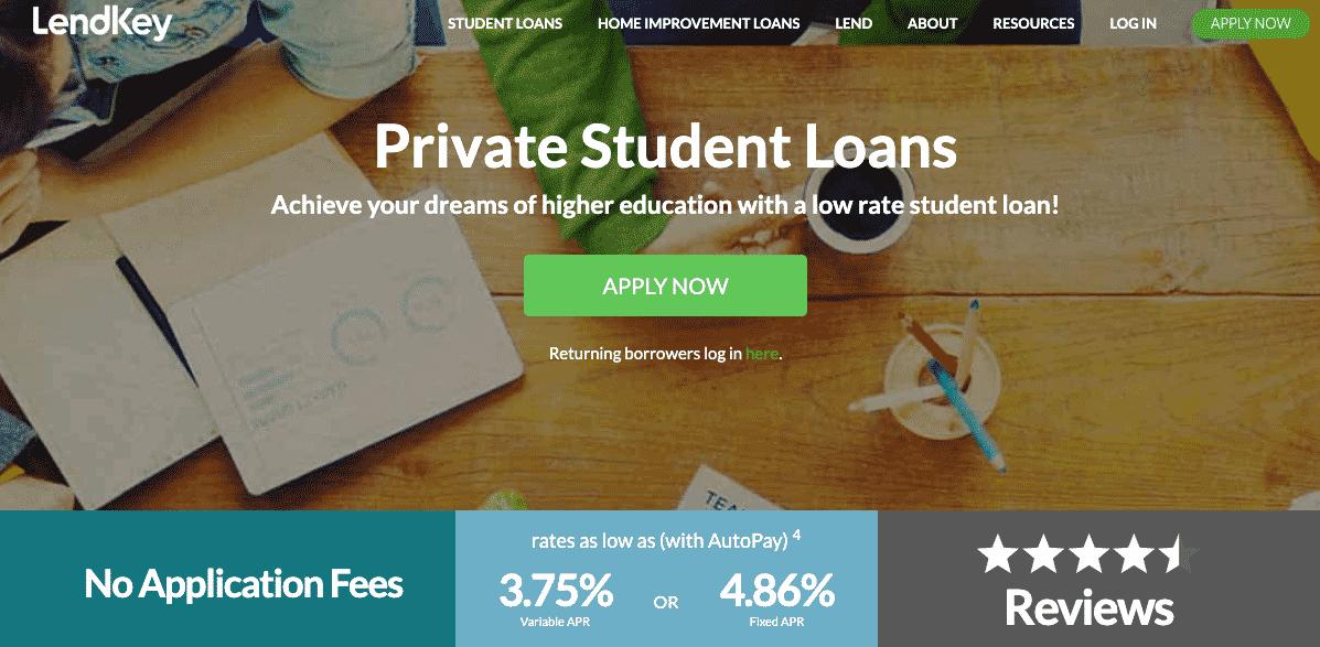 lendkey private student loans